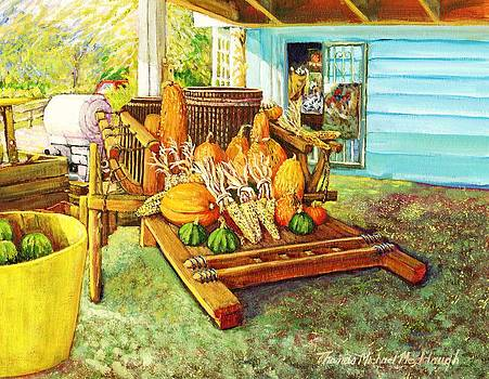 Rosebank Farm Cart by Thomas Michael Meddaugh