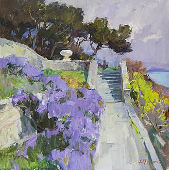 Rosemary alley by Alexander  Kriushin