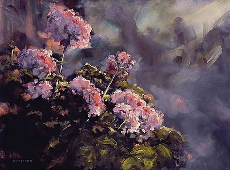 Rosemary's Geranium by Ken Fiery