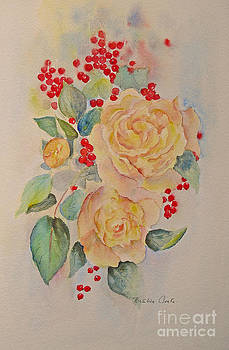 Beatrice Cloake - Roses and Redcurrants