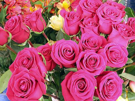 Kurt Van Wagner - Roses at the Flower Market