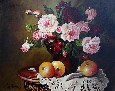 Roses by Dusan Vukovic