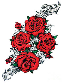 Roses From Pain by Derrick Rathgeber
