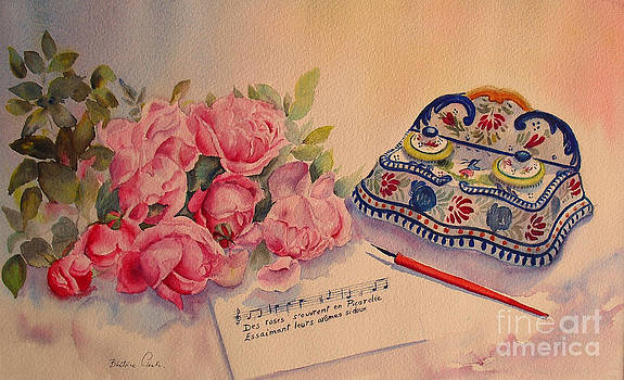 Beatrice Cloake - Roses from Picardie