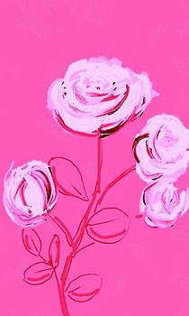 Roses in pink by Alice Butera