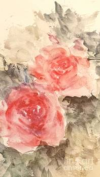 Roses -Vintage Style by Trilby Cole