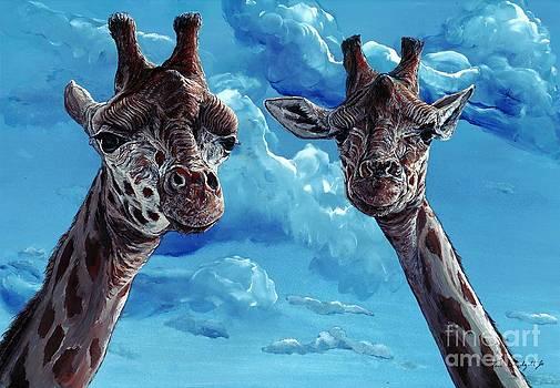 Rothschild Giraffe by Tom Blodgett Jr