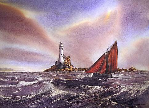 Rounding The Fastnet by Roland Byrne