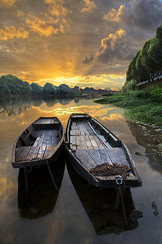 Debra and Dave Vanderlaan - Rowboats on the River