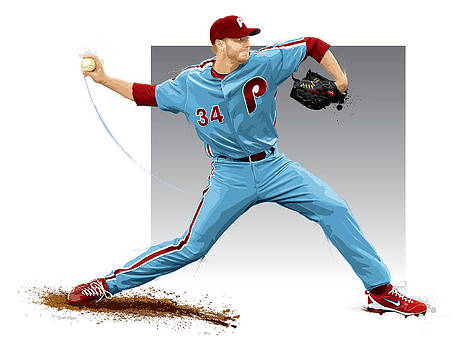 Roy Halladay by Scott Weigner