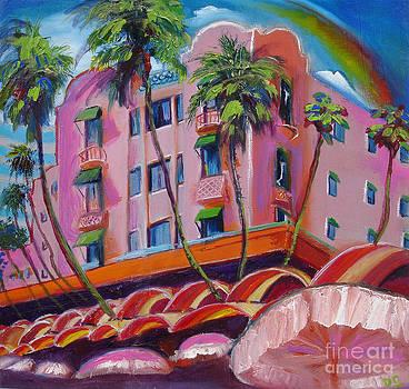 Royal Hawaiian Hotel by Donna Chaasadah