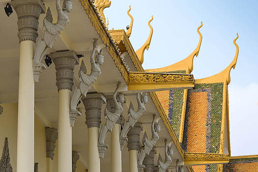 Royal Roof Cambodia by Bill Mock