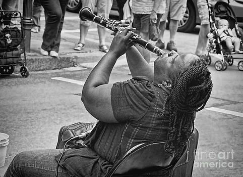 Kathleen K Parker - Royal Street Clarinet Player New Orleans