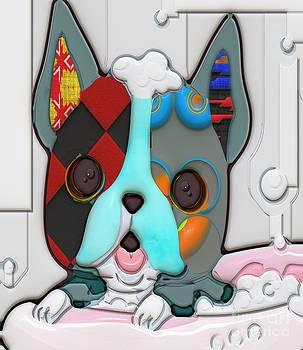 Liane Wright - Rub A Dub Dub Puppy In A Tub