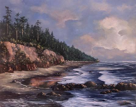 Ruby Beach by Lynne Wright