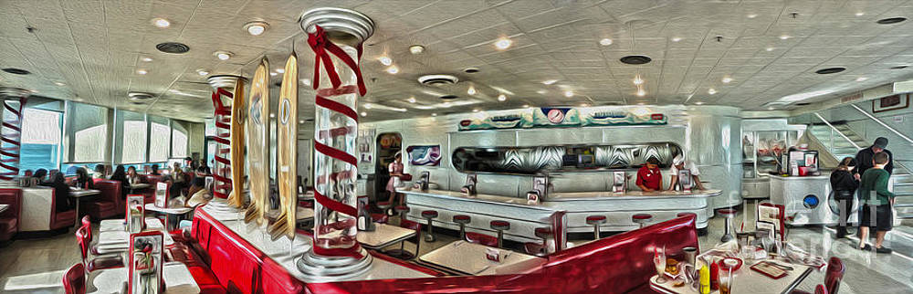 Gregory Dyer - Rubys Diner Panorama