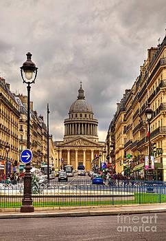 Rue Sufflot in Paris by Radu Razvan