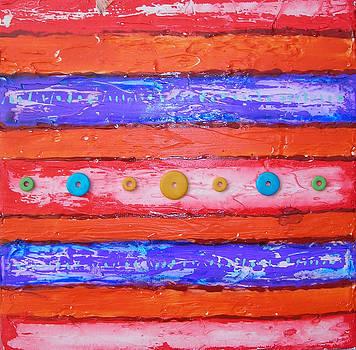 Rugs-red by Ivaylo Georgiev