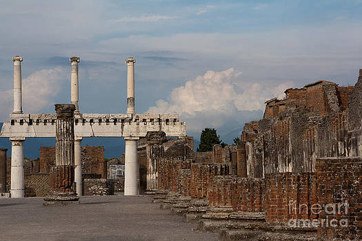 Ruins of Pompeii I by Amy Bynum