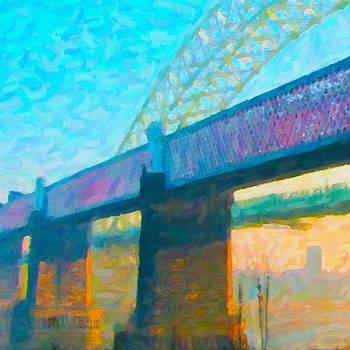 Chuck Mountain - Runcorn Railway Bridge