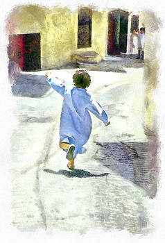 Running Boy by Tina Manley