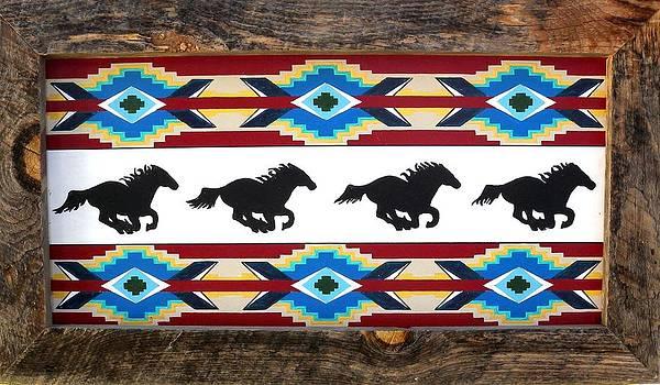 Running Horses by Paul Ferrara
