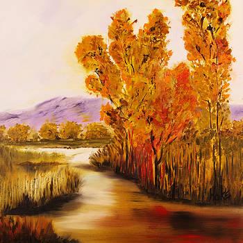 Running River by Scott Hoke