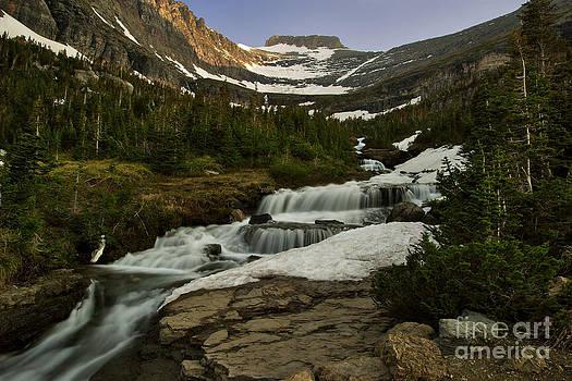 Charles Kozierok - Runoff Waterfall Near Logan Pass