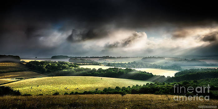 Simon Bratt Photography LRPS - Rural landscape stormy daybreak