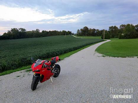 Rural Road in Indiana by AntiHero