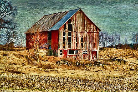 Deborah Benoit - Rural Rustic Vermont Scene