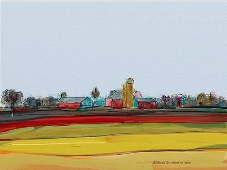 Rural scene by Gilberto De Martino