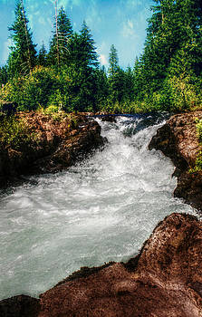 Rushing Rogue Gorge by Melanie Lankford Photography
