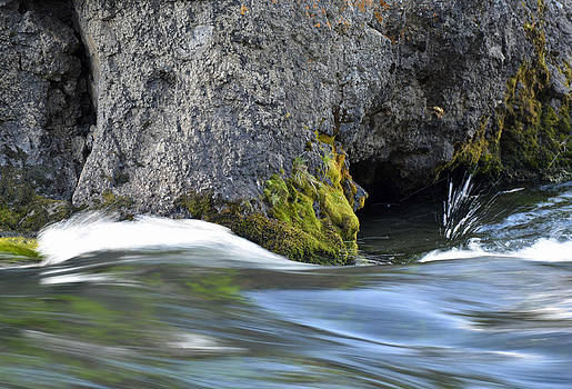 Rushing to the Falls by Bruce Gourley