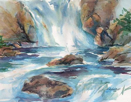 Rushing Waters by Kerry Kupferschmidt