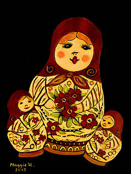 Russian dolls by Maggie Ullmann