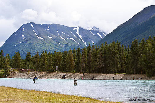 Russian River AK by Chris Heitstuman