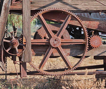 Rusted Gears by Philip Chiu