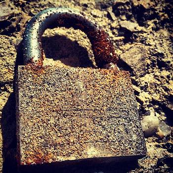 Rusted Lock by Troy Lewis