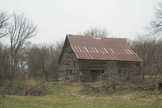 Rustic Barn Forgotten by Dawn Romine