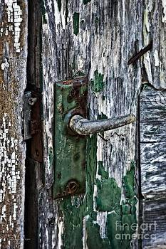 Rustic Door Handle by Ms Judi