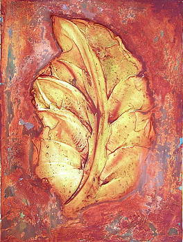 Rustic Leaf by Kristine Mueller Griffith
