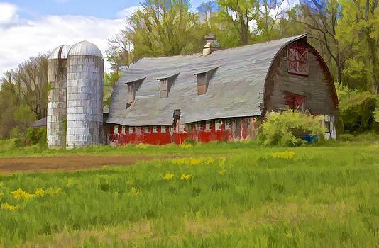 David Letts - Rustic Red Barn
