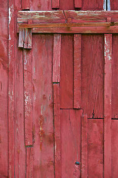 David Letts - Rustic Red Barn Wall II
