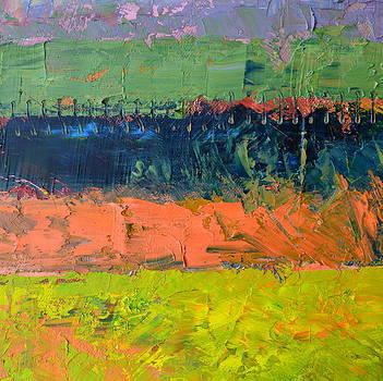 Michelle Calkins - Rustic Roadside Series - Pond