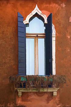 Rustic Window Italy by Indiana Zuckerman