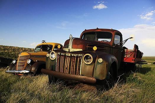 Rusting Side by Side by Richard Stillwell