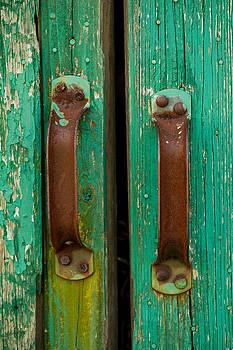 Rusty Handles by Paul Bartoszek