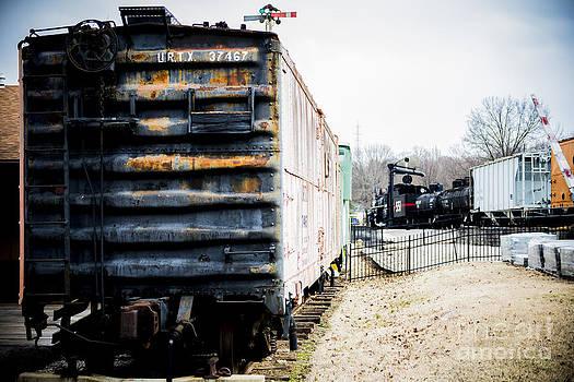 Rusty Rail Car by Courtney DeGregorio