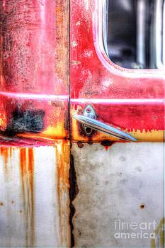 Rusty Truck 1 by Lori Frostad